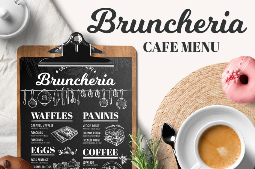 Brunch Menu Template