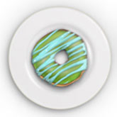 Semi-Realistic Donuts Using Adobe Photoshop