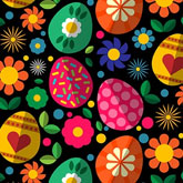 Easter Pattern in Adobe Illustrator