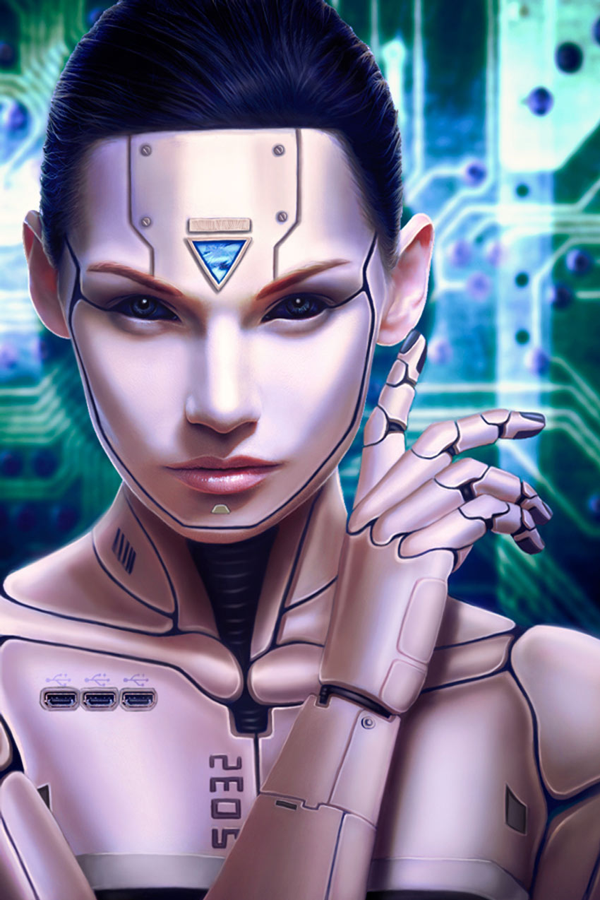 Human Cyborg Photo Manipulation Photoshop Tutorial by Melody Nieves