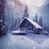 Winter Landscape Photo Manipulation