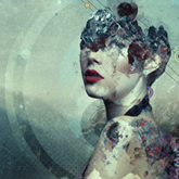 Abstract Portrait Photo Manipulation