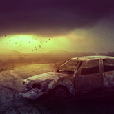 Desolate Wasteland in Adobe Photoshop