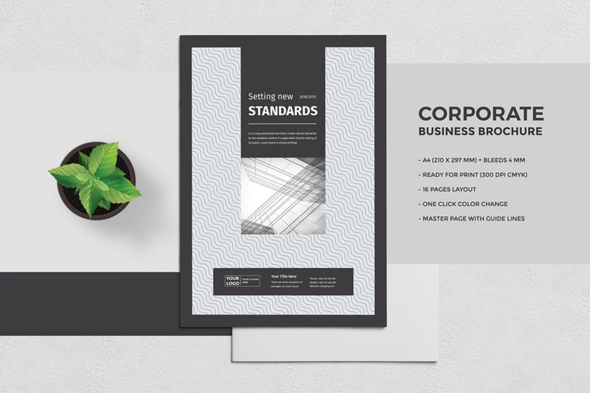 professional brochure template - 25 best professional brochure templates
