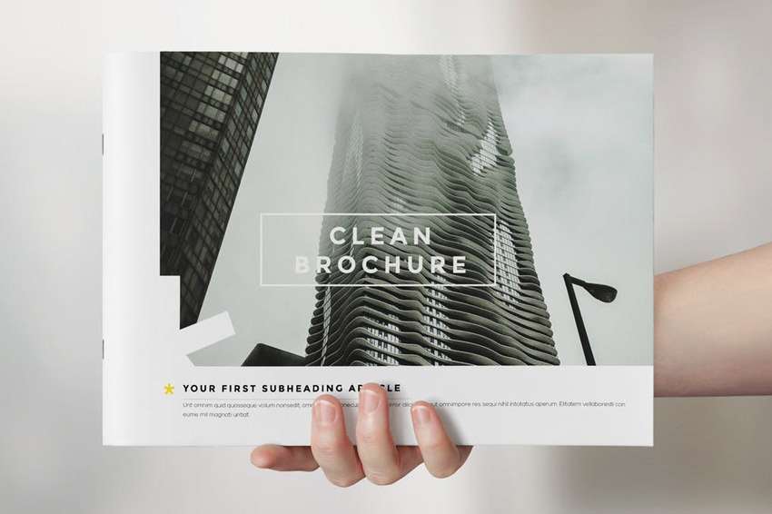 Clean Brochure Catalog Template