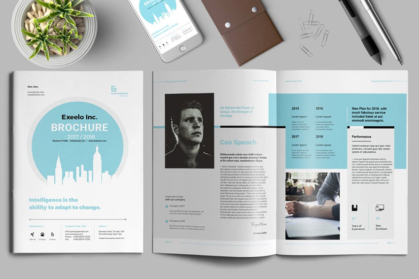 25 Best Professional Brochure Templates