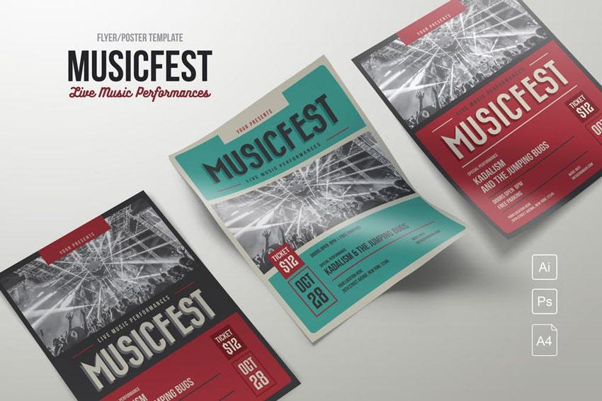 MusicFest Flyer Template