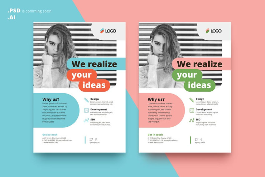 Stylish Flyer Templates