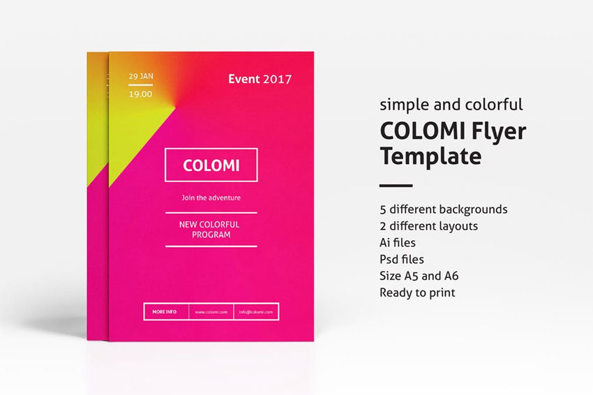 Colomi - Flyer Template