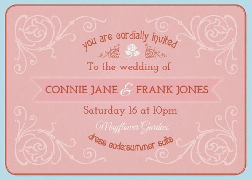 Wedding Invitaion Adobe InDesign Tutorial