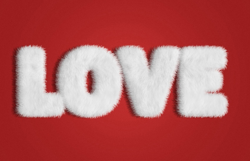 Fur Text Effect Adobe Photoshop Tutorial