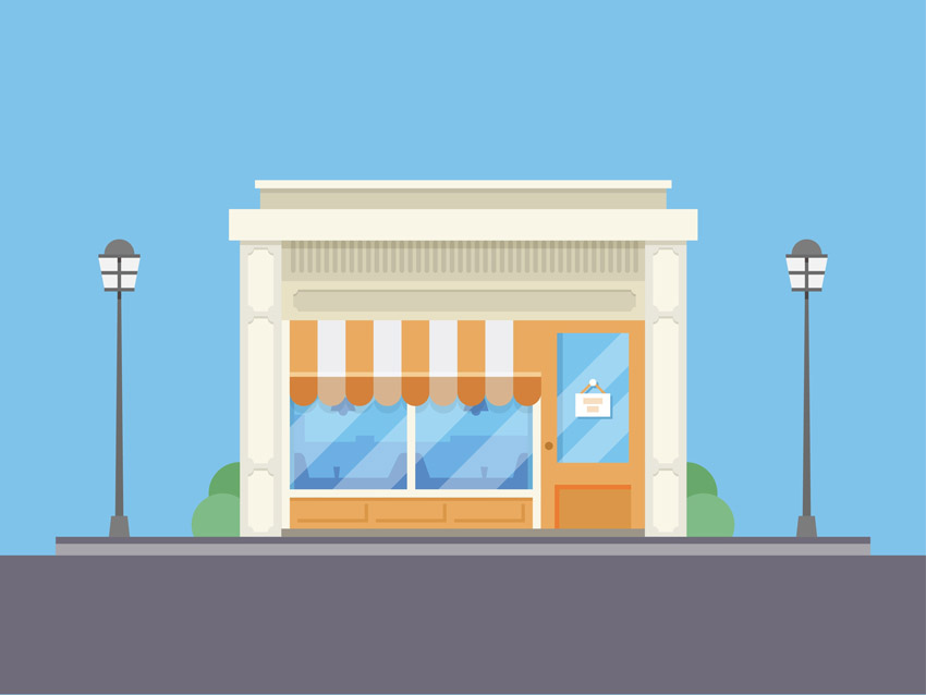 Bodega Shop Illustration Adobe Illustrator Tutorial