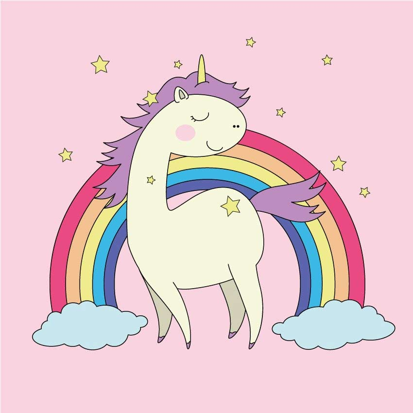 Unicorn Illustration Adobe Illustrator Tutorial