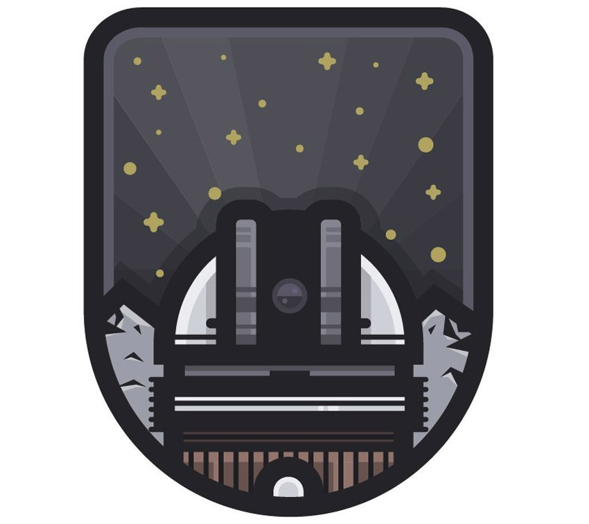 Space Badge Adobe Illustrator Tutorial