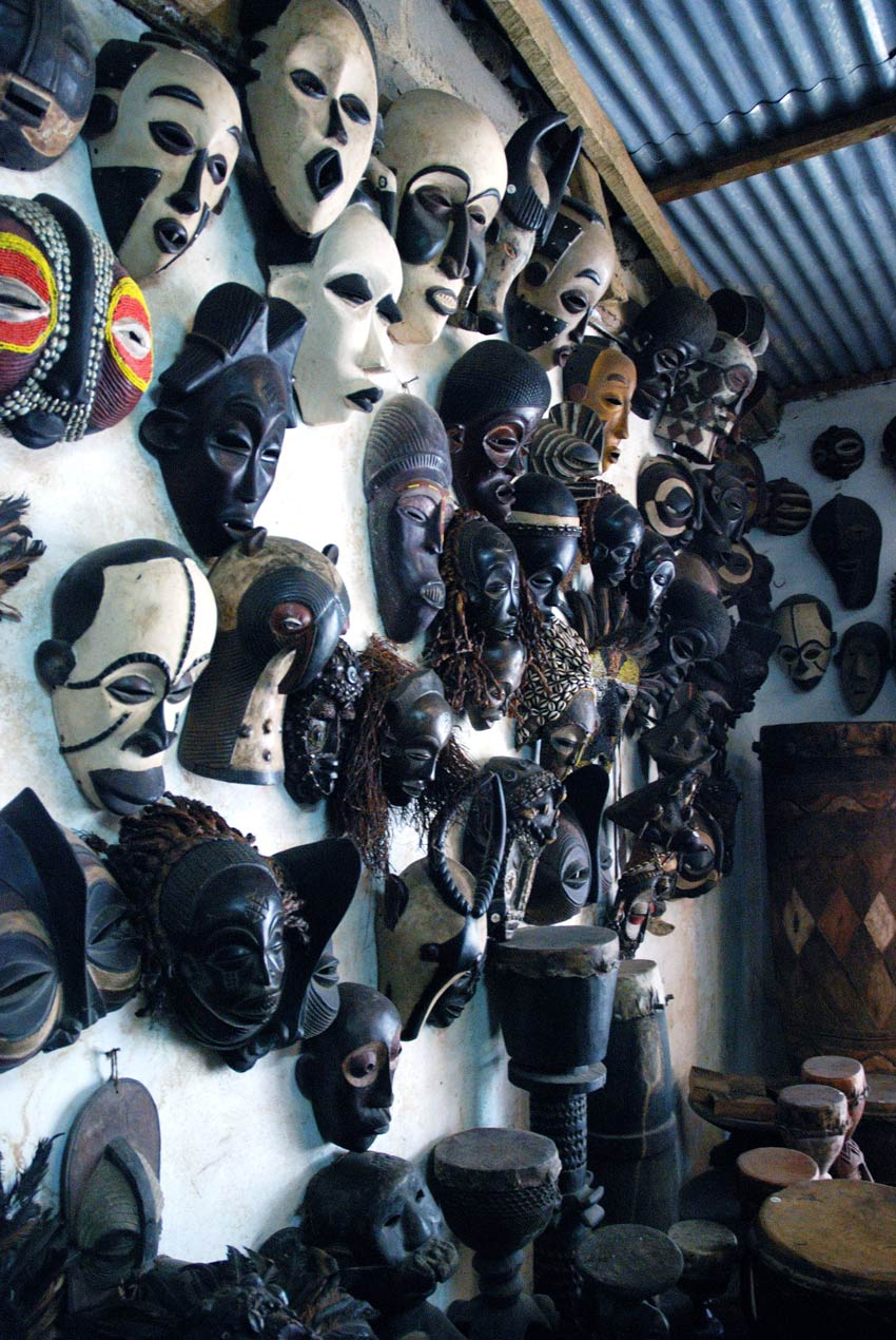 Commercial African Masks