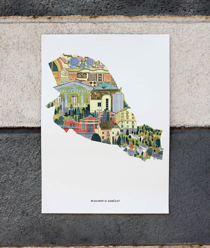Budapest Posters by Aliz Buzas