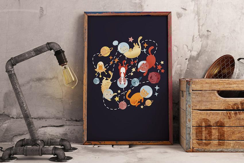 Catstronauts by Erika Biro