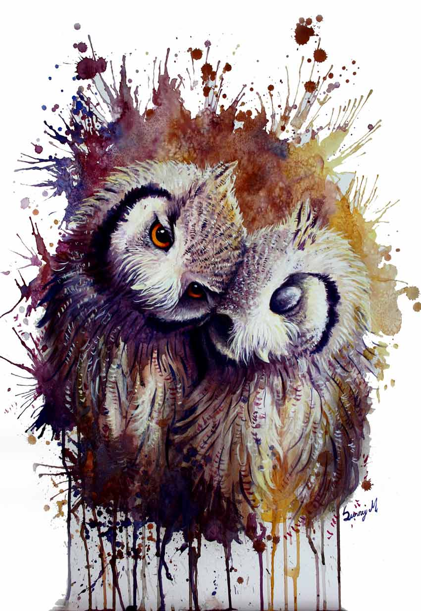 Owls by Sunniva Master