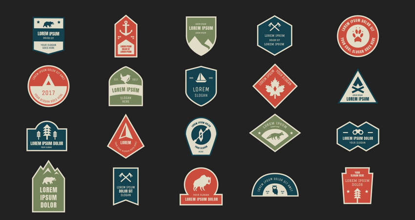 Outdoor Badges Logo Kit