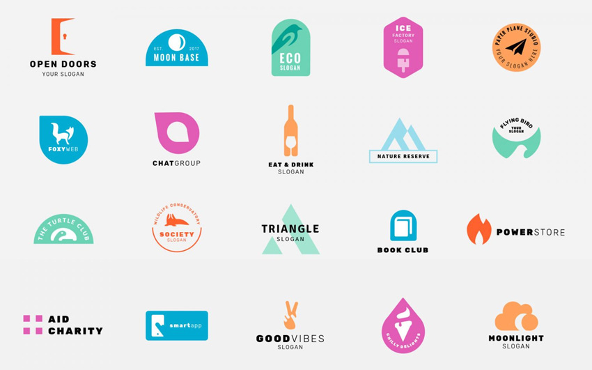 The Best Free Logo Design Template Kits (New for 2017)