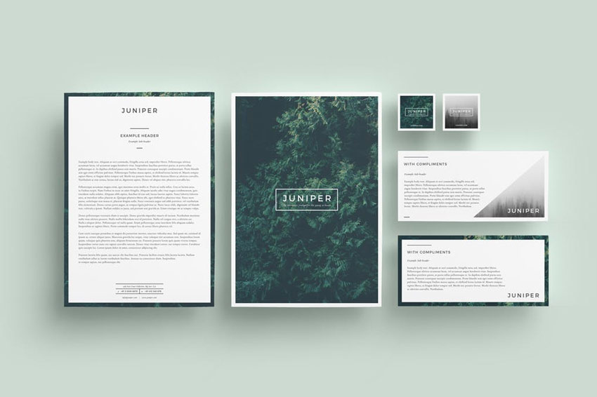 Juniper Letterhead  With Comps