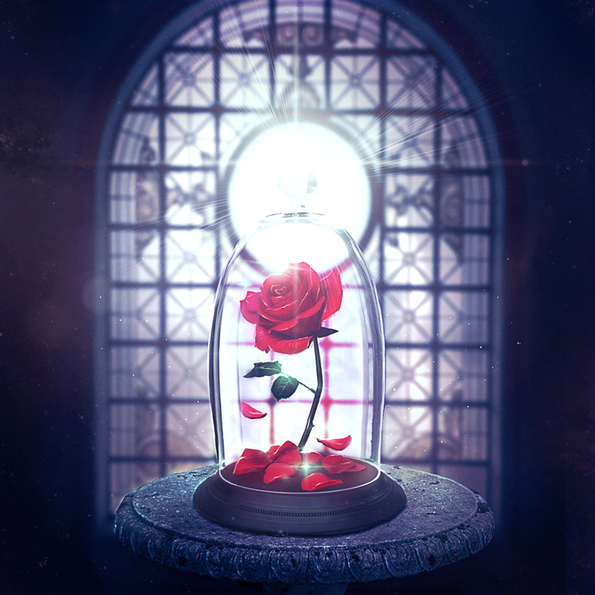 Enchanted Rose Photo Manipulation Photoshop Tutorial Melody Nieves