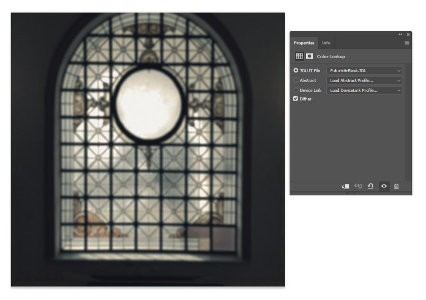 Add a Color Lookup Adjustment Layer
