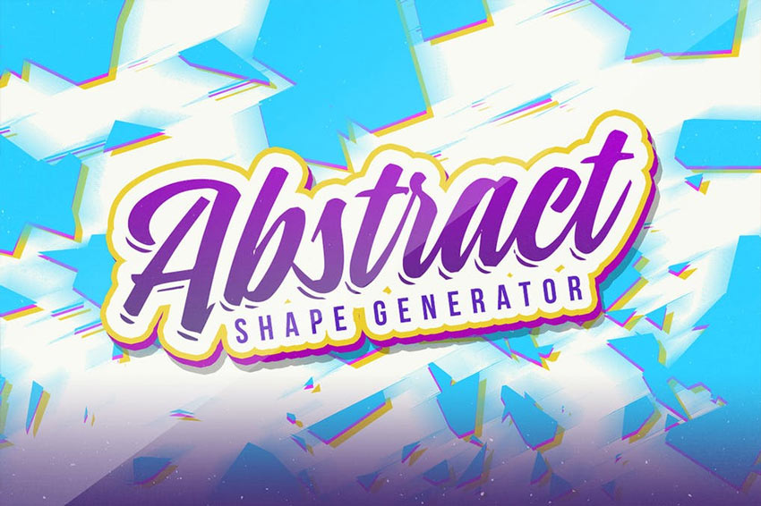 Abstract Vector Shape Generator