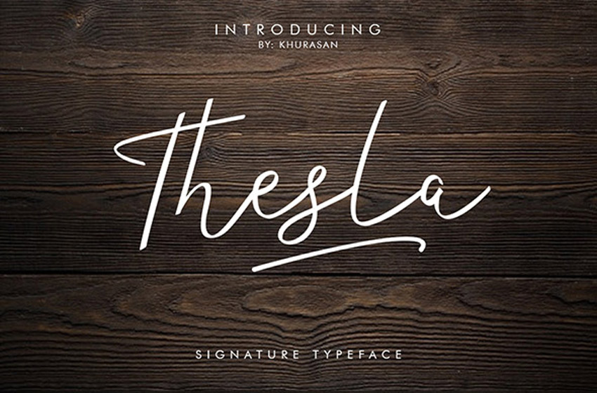 35 Best Calligraphy Fonts