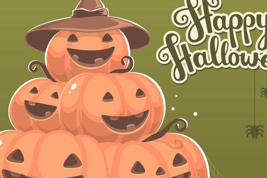 Halloween Pumpkin Illustrations