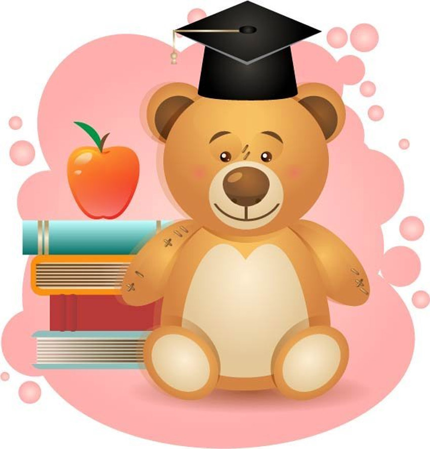 School Teddy Bear Tutorial