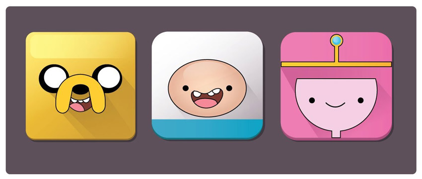 Adventure Time Icon Tutorial