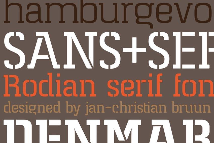 Rodian Serif Font