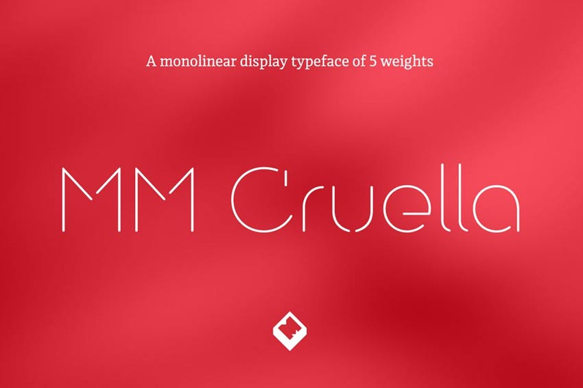MM Cruella Typeface