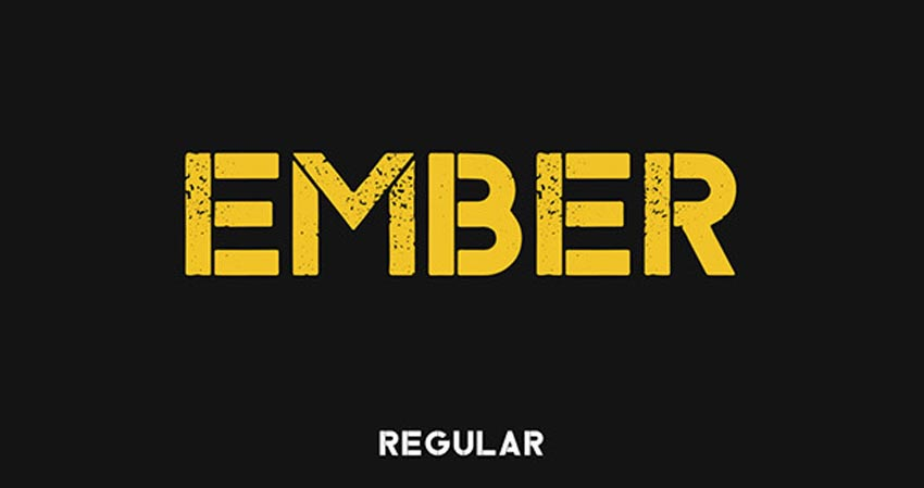 Ember Typeface