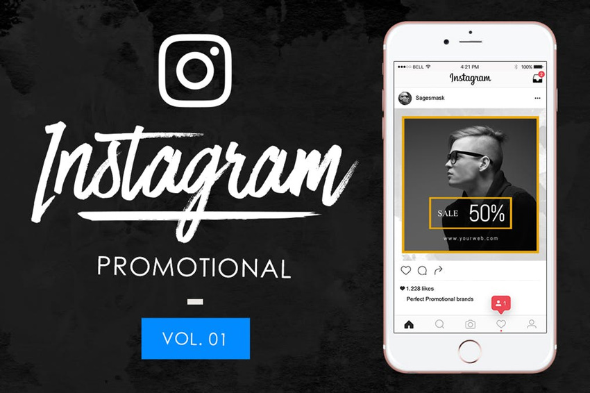 10 Instagram Promotional Vol 1