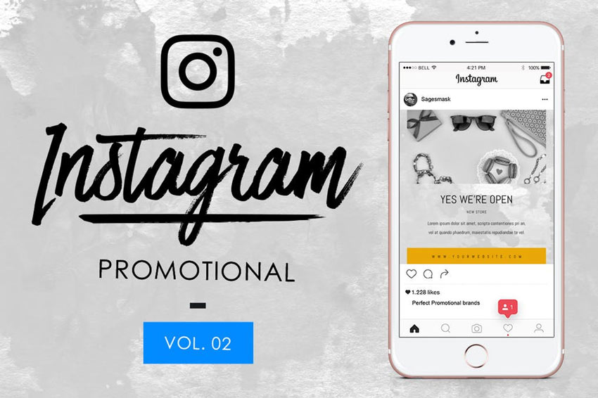 10 Instagram Promotional Vol 2