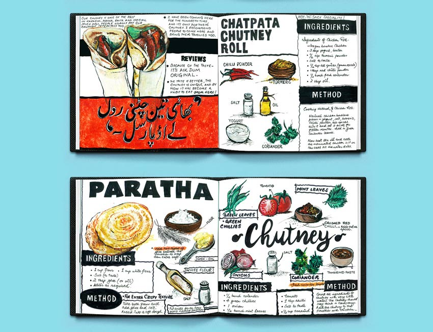 Illustrated Travel Cookbook  by Mahrukh Saleem Ansari
