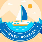 How to create a lovely boating illustration