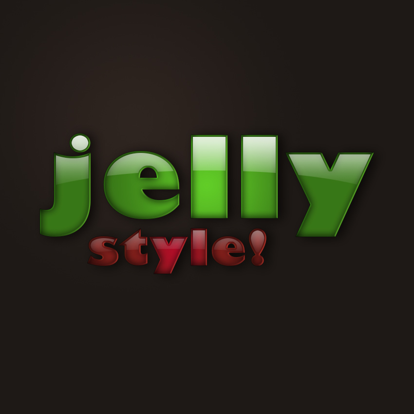 How to Create a Plastic Jelly Layer Style