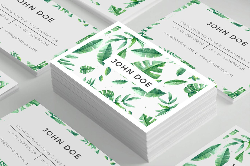 Business Card Template from Envato Elements