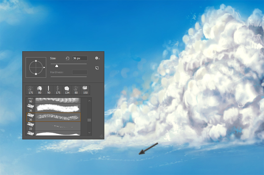 How to Paint Fluffy, Stormy, and Wispy Clouds in Photoshop