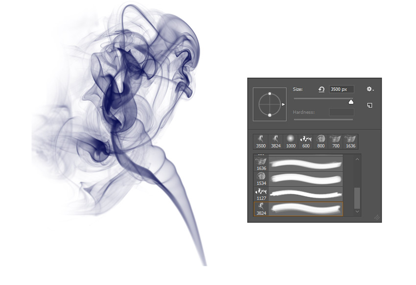 Custom Smoke Brush
