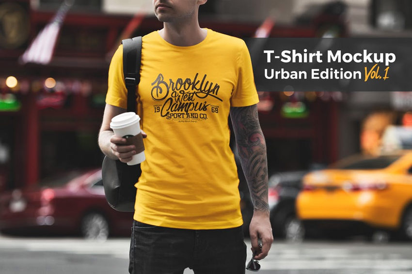 T-Shirt Mockup Urban Edition
