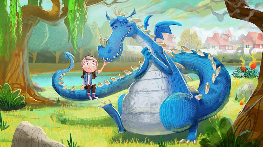 I Lost My Dragon by Aly Elziny