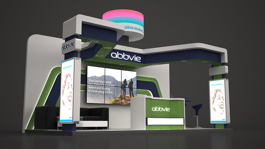 Abbvie Booth by Reham Magdy