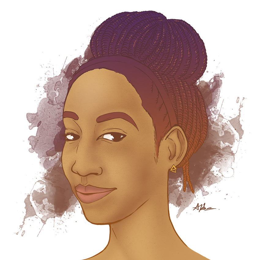 Portrait Commission by Abigail Titus