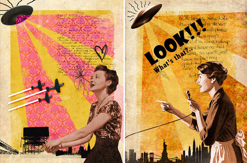 Create A Cool Vintage Collage Design In Photoshop