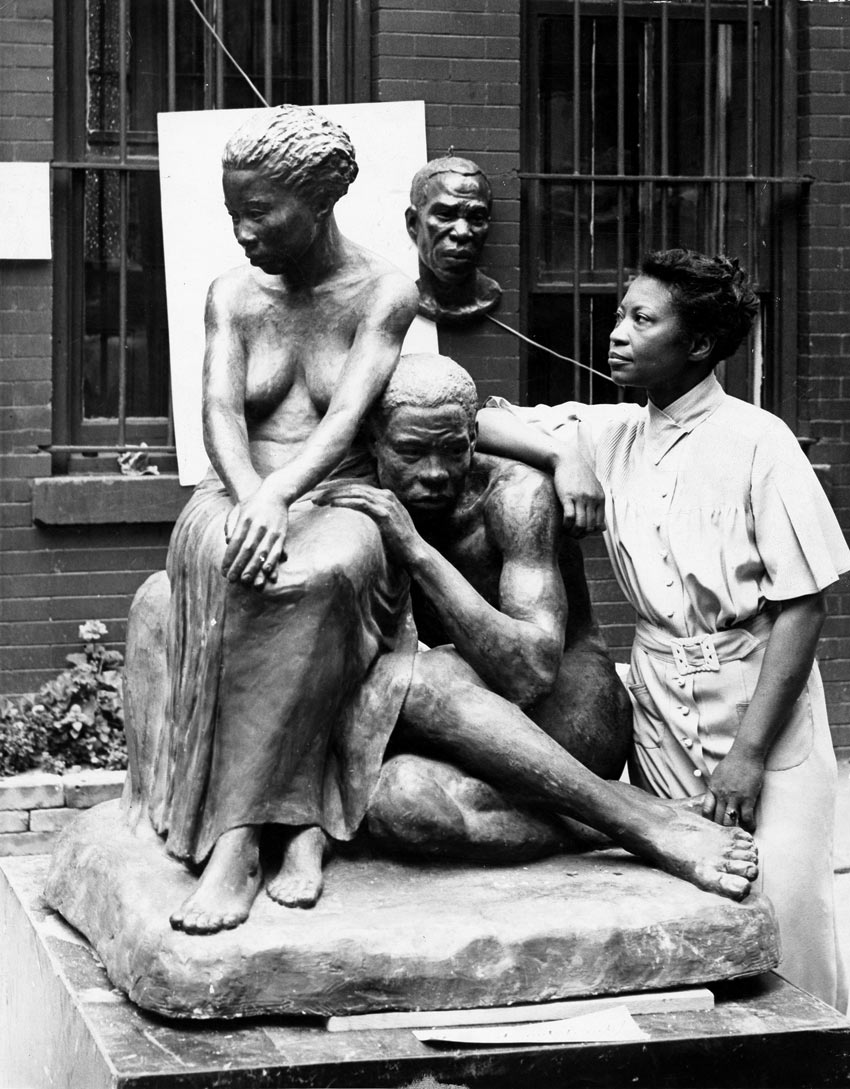 Sculpture by Augusta Savage