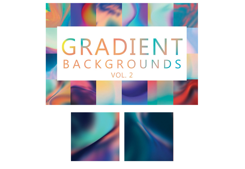Gradient Backgrounds Envato Elements